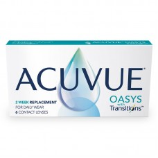 Acuvue Oasys com Transitions