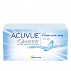 Acuvue Oasys com Hydraclear Plus Na compra 2 cxs Brinde RENU 60 ml