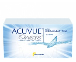 Acuvue Oasys com Hydraclear Plus