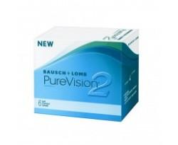 Purevision 2 Compre 2 cxs Brinde RENU 60 ml