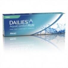 Lentes de contato Dailies Aquacomfort plus Torica descarte diário